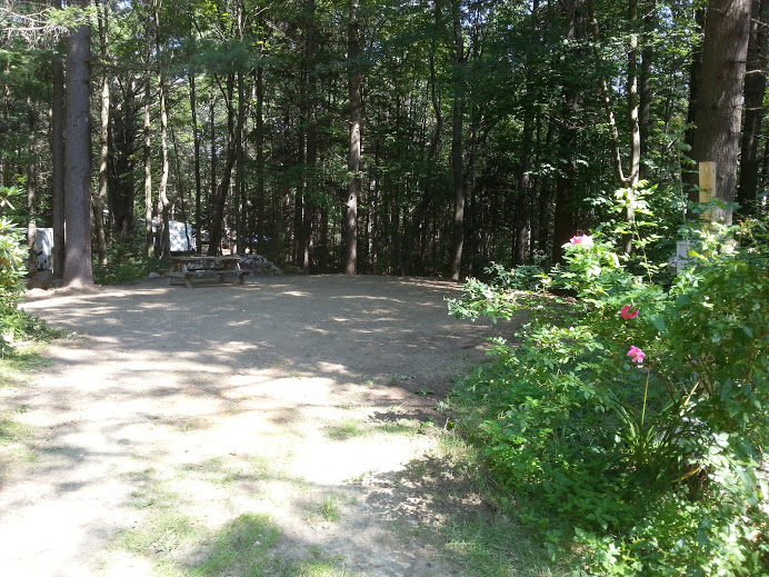 Another view of RV site #19